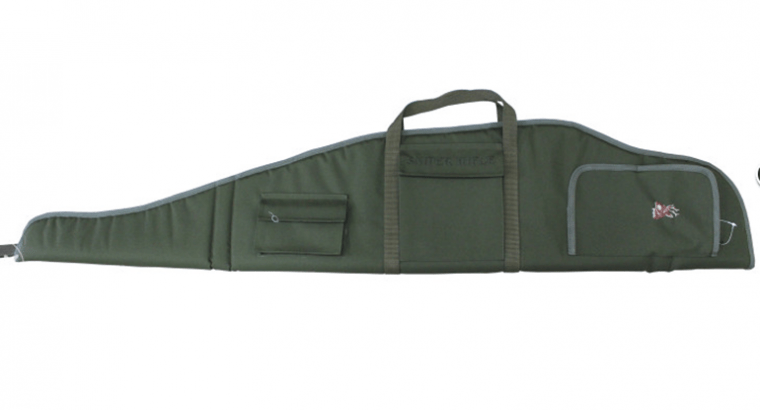 Holster bag for rifle with scope