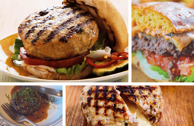 Homemade burger recipes that use game and venison – easy to make and delicious on the BBQ